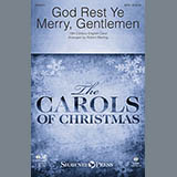 Download or print Robert Sterling God Rest Ye Merry, Gentlemen - Bb Clarinet 2 (Bass Clarinet) Sheet Music Printable PDF 2-page score for Christmas / arranged Choir Instrumental Pak SKU: 342609.