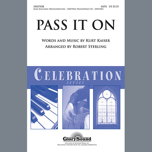 Easily Download Robert Sterling Printable PDF piano music notes, guitar tabs for Choir Instrumental Pak. Transpose or transcribe this score in no time - Learn how to play song progression.