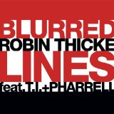 Download Robin Thicke 'Blurred Lines' Printable PDF 2-page score for Rock / arranged Guitar Ensemble SKU: 165628.