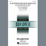 Download or print Rodgers & Hammerstein A Hundred Million Miracles (arr. Jill Gallina) Sheet Music Printable PDF 14-page score for Pop / arranged 2-Part Choir SKU: 176546.