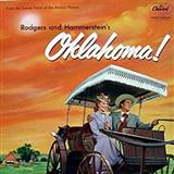 Download or print Rodgers & Hammerstein The Surrey With The Fringe On Top (from Oklahoma!) Sheet Music Printable PDF 1-page score for Standards / arranged Real Book – Melody & Chords SKU: 59962.