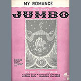Download or print Rodgers & Hart My Romance Sheet Music Printable PDF 1-page score for Latin / arranged Real Book – Melody & Chords – Eb Instruments SKU: 61799.