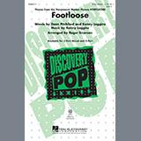 Download or print Roger Emerson Footloose Sheet Music Printable PDF 11-page score for Film/TV / arranged 2-Part Choir SKU: 287795.