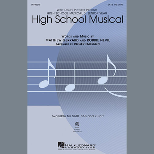 Easily Download High School Musical 3 Printable PDF piano music notes, guitar tabs for 2-Part Choir. Transpose or transcribe this score in no time - Learn how to play song progression.