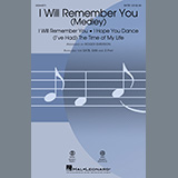 Download Roger Emerson 'I Will Remember You (Medley)' Printable PDF 10-page score for Pop / arranged SATB Choir SKU: 451093.