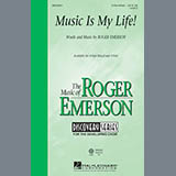 Download Roger Emerson 'Music Is My Life!' Printable PDF 15-page score for Inspirational / arranged 3-Part Mixed Choir SKU: 410640.