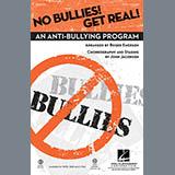 Download or print John Jacobson No Bullies! Get Real! (arr. Roger Emerson) Sheet Music Printable PDF 8-page score for Pop / arranged 2-Part Choir SKU: 81268.