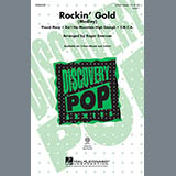 Download or print Roger Emerson Rockin' Gold (Medley) Sheet Music Printable PDF 15-page score for Country / arranged 2-Part Choir SKU: 97845.