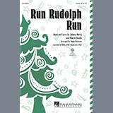 Download or print Roger Emerson Run Rudolph Run Sheet Music Printable PDF 9-page score for Christmas / arranged 2-Part Choir SKU: 284116.