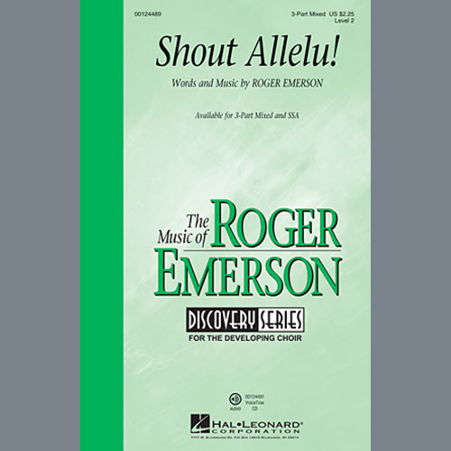 Easily Download Roger Emerson Printable PDF piano music notes, guitar tabs for 3-Part Mixed Choir. Transpose or transcribe this score in no time - Learn how to play song progression.