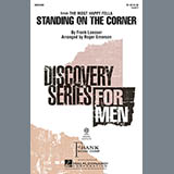 Download or print Roger Emerson Standing On The Corner Sheet Music Printable PDF 7-page score for Concert / arranged TB Choir SKU: 97948.