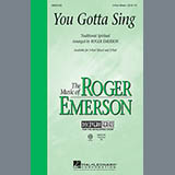 Download or print Roger Emerson You Gotta Sing Sheet Music Printable PDF 11-page score for Concert / arranged 2-Part Choir SKU: 97554.