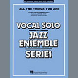 Download Roger Holmes 'All The Things You Are - Piano/Vocal' Printable PDF 7-page score for Jazz / arranged Jazz Ensemble SKU: 309350.