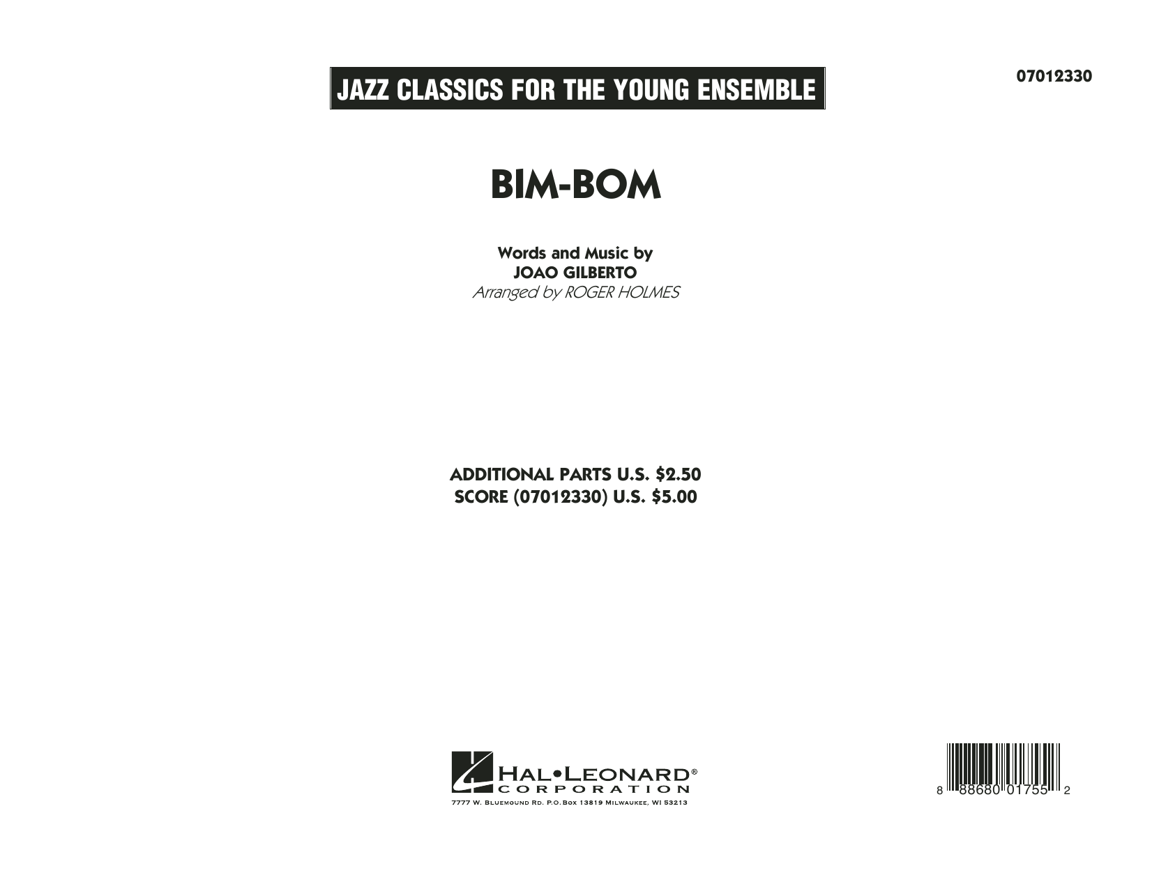 Roger Holmes Bim-Bom - Conductor Score (Full Score) sheet music notes and chords. Download Printable PDF.