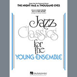 Download Roger Holmes 'The Night Has A Thousand Eyes - Tenor Sax 1' Printable PDF 3-page score for Jazz / arranged Jazz Ensemble SKU: 301390.