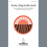 Download Roger Thornhill 'Come, Sing To The Lord' Printable PDF 6-page score for Children / arranged 2-Part Choir SKU: 289956.