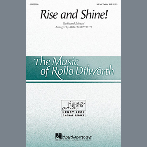 Easily Download Rollo Dilworth Printable PDF piano music notes, guitar tabs for 3-Part Treble Choir. Transpose or transcribe this score in no time - Learn how to play song progression.