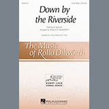 Download or print African-American Spiritual Down By The Riverside (arr. Rollo Dilworth) Sheet Music Printable PDF 6-page score for Spiritual / arranged 2-Part Choir SKU: 163884.