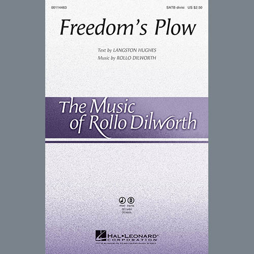 Rollo Dilworth, Freedom's Plow - Trombone 1, Choir Instrumental Pak