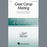 Download Rollo Dilworth 'Great Camp Meeting - Double Bass' Printable PDF 2-page score for Gospel / arranged Choir Instrumental Pak SKU: 344042.
