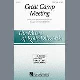 Download Rollo Dilworth 'Great Camp Meeting - Violin 1' Printable PDF 2-page score for Gospel / arranged Choir Instrumental Pak SKU: 344038.