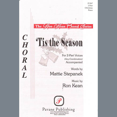 Easily Download Ron Kean Printable PDF piano music notes, guitar tabs for 2-Part Choir. Transpose or transcribe this score in no time - Learn how to play song progression.