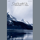 Download Ronald W. Cadmus and Brad Nix 'God Is With Us' Printable PDF 11-page score for Sacred / arranged SATB Choir SKU: 445157.