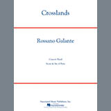 Download Rossano Galante 'Crosslands - F Horn 1' Printable PDF 2-page score for Classical / arranged Concert Band SKU: 331580.