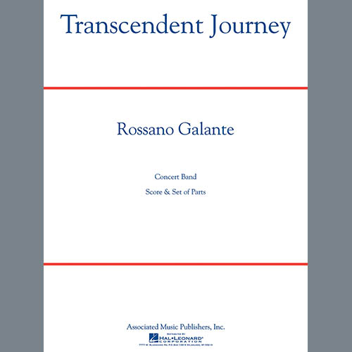 Easily Download Rossano Galante Printable PDF piano music notes, guitar tabs for Concert Band. Transpose or transcribe this score in no time - Learn how to play song progression.