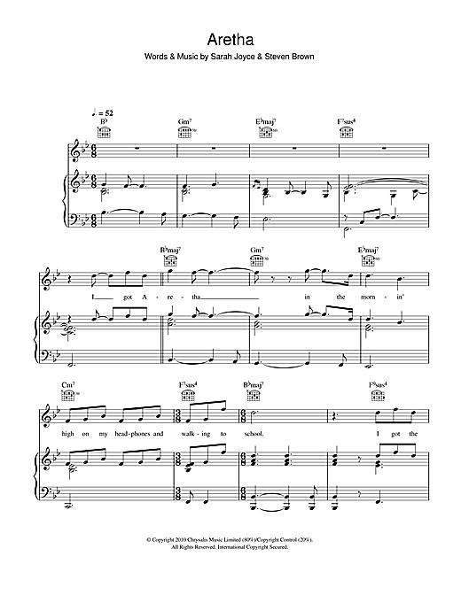 Rumer Aretha sheet music notes and chords. Download Printable PDF.
