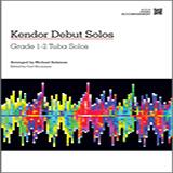 Download Salzman 'Kendor Debut Solos - Tuba - Piano Accompaniment' Printable PDF 38-page score for Instructional / arranged Brass Solo SKU: 124996.