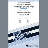 Download or print Mac Huff Writing's On The Wall Sheet Music Printable PDF 9-page score for Rock / arranged 2-Part Choir SKU: 170230.