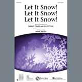 Download Sammy Cahn & Julie Styne 'Let It Snow! Let It Snow! Let It Snow! (arr. Mark Hayes)' Printable PDF 12-page score for Christmas / arranged SAB Choir SKU: 403719.