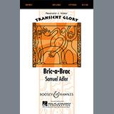 Download or print Samuel Adler Bric-A-Brac Sheet Music Printable PDF 6-page score for Concert / arranged 4-Part Choir SKU: 71274.