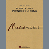 Download or print Samuel R. Hazo Fantasy On A Japanese Folk Song - Bb Clarinet 1 Sheet Music Printable PDF 2-page score for Japanese / arranged Concert Band SKU: 347012.