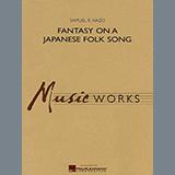 Download or print Samuel R. Hazo Fantasy On A Japanese Folk Song - Harp Sheet Music Printable PDF 3-page score for Japanese / arranged Concert Band SKU: 347041.
