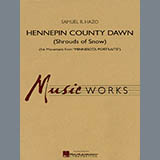 Download or print Samuel R. Hazo Hennepin County Dawn (Mvt. 1 of Minnesota Portraits) - String Bass Sheet Music Printable PDF 1-page score for Concert / arranged Concert Band SKU: 275677.