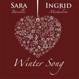 Download or print Sara Bareilles Winter Song Sheet Music Printable PDF 6-page score for Pop / arranged Big Note Piano SKU: 153301.