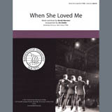 Download Sarah McLachlan 'When She Loved Me (from Toy Story 2) (arr. Jim Kahlke)' Printable PDF 5-page score for Barbershop / arranged TTBB Choir SKU: 407106.