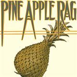 Download or print Scott Joplin Pineapple Rag Sheet Music Printable PDF 4-page score for Jazz / arranged Piano Solo SKU: 31821.