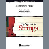 Download or print Sean O'Loughlin Christmas Pipes - Viola Sheet Music Printable PDF 2-page score for Christmas / arranged Orchestra SKU: 344500.