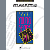 Download Sean O'Loughlin 'Lady Gaga in Concert - Trombone 2' Printable PDF 2-page score for Pop / arranged Concert Band SKU: 370125.
