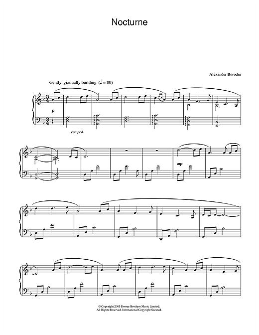 Secret Garden Nocturne sheet music notes and chords. Download Printable PDF.