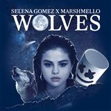 Download Selena Gomez & Marshmello 'Wolves' Printable PDF 5-page score for Pop / arranged Piano, Vocal & Guitar (Right-Hand Melody) SKU: 194361.