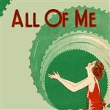 Download or print Seymour Simons All Of Me Sheet Music Printable PDF 3-page score for Jazz / arranged Easy Piano SKU: 413314.