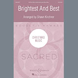 Download or print Shawn Kirchner Brightest and Best - Score Sheet Music Printable PDF 26-page score for Christmas / arranged Choir Instrumental Pak SKU: 360055.