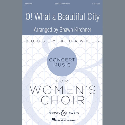 Easily Download Shawn Kirchner Printable PDF piano music notes, guitar tabs for SSA Choir. Transpose or transcribe this score in no time - Learn how to play song progression.