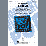 Download Shawn Mendes 'Believe (from Descendants) (arr. Audrey Snyder)' Printable PDF 18-page score for Children / arranged 3-Part Mixed Choir SKU: 162314.