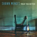 Download Shawn Mendes 'Treat You Better' Printable PDF 6-page score for Pop / arranged Big Note Piano SKU: 181542.