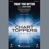 Download Shawn Mendes 'Treat You Better (arr. Ed Lojeski)' Printable PDF 11-page score for Pop / arranged TTBB Choir SKU: 184220.